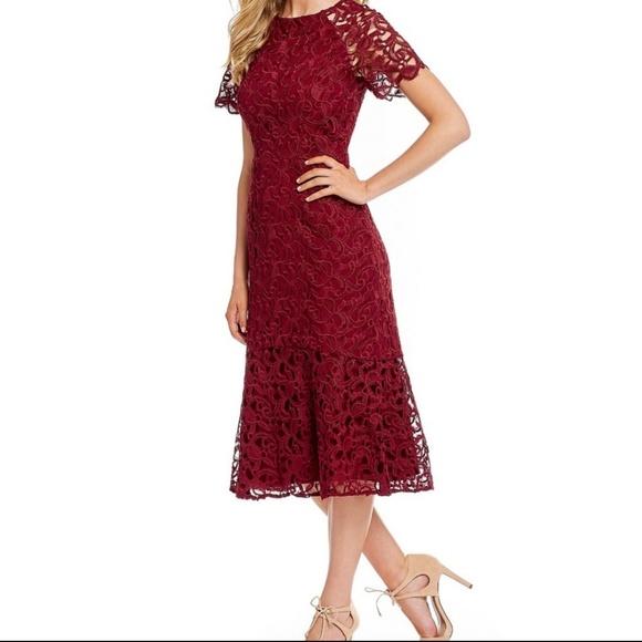 a30ac24f42 Antonio Melani Penny Lace Midi Dress